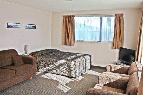 Mosgiel, Nya Zeeland: 1 bedroom unit, 1 queen, 2 singles