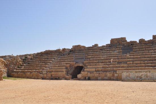 Caesarea, Israel: Herodian Amphitheater