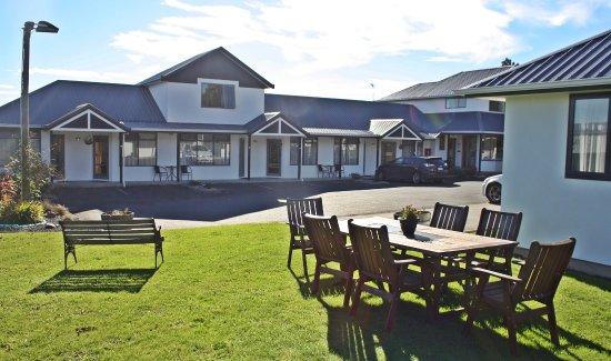 Mosgiel, Nya Zeeland: out side BBQ area