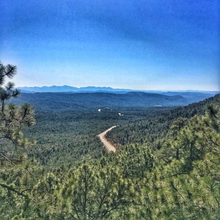 Strawberry, Аризона: Mongonlian Rim drive was AWESOME - we took the back road that spits you out at Pine