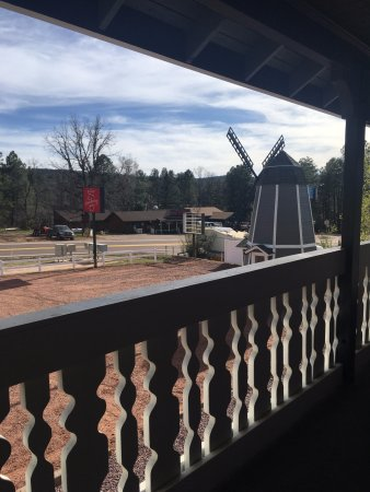 Strawberry, AZ: View from the 2nd floor patio