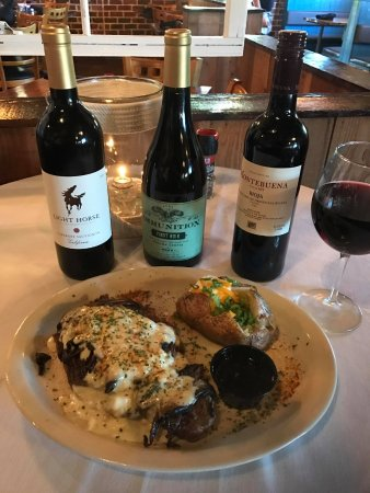 Richmond Hill, GA: RIBEYE SPECIAL & FEATURED WINES