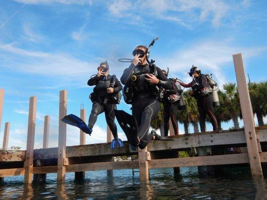 Jupiter, FL: Open Water Class - Giant Stride