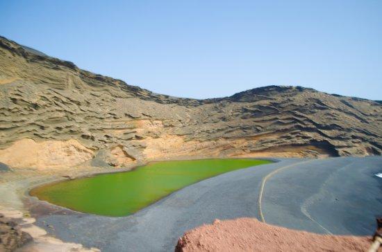 Green Lake at El Golfo, Lanzarote
