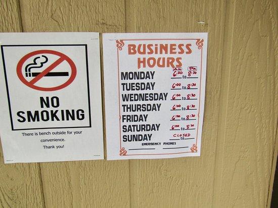 Hermiston, Oregón: Hours