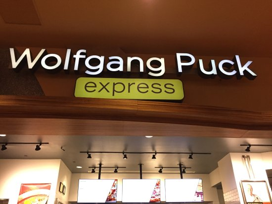 Wolfgang Puck Express: As seen from the nearby dining area