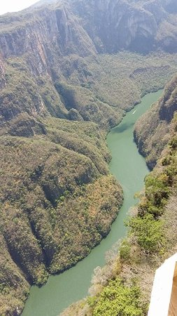 Cañón del Sumidero: Espectacular vista