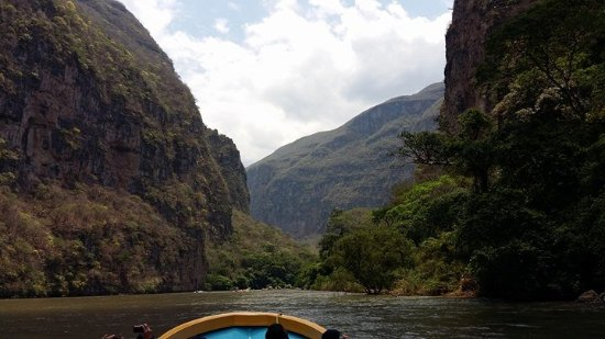 Cañón del Sumidero: El cañón en su esplendor