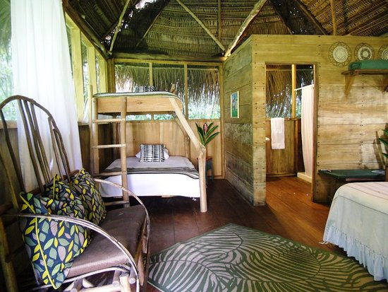Пунта-Горда, Белиз: casita with queen bed and bunk bed