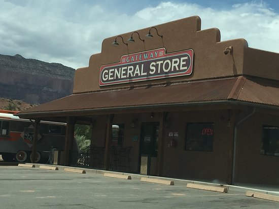 Whitewater, CO: Gateway store.
