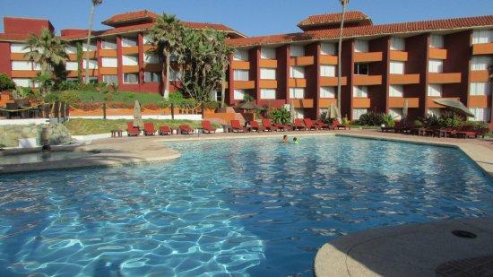 Puerto Nuevo, Mexico: Pool View