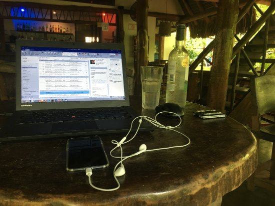 Eco Venao: With this set up I worked 2 days. Wifi Speed was 1,5 Mbs