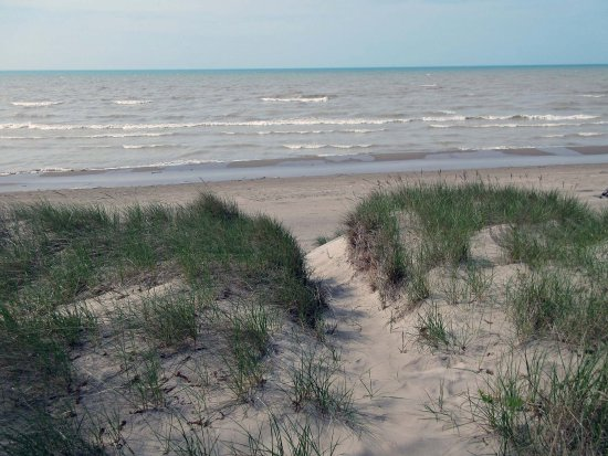 Long Point Provincial Campground: Lake Erie