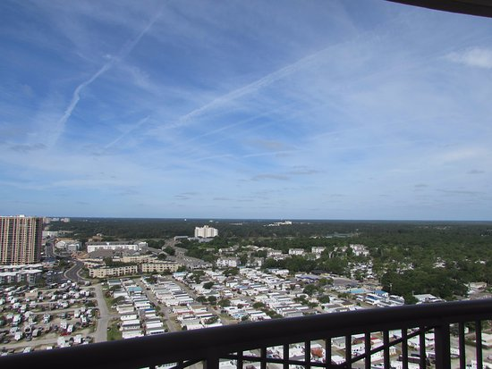 Ocean Creek by Palmetto Vacation Rentals: View from balcony
