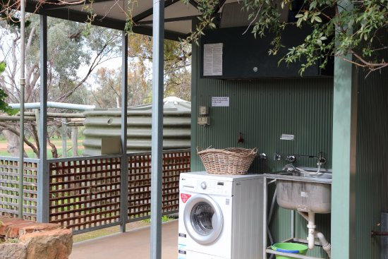 Melrose, Australien: Shared Laundry