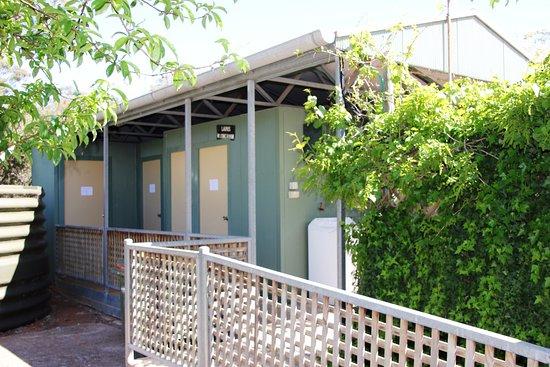 Melrose, Australia: Shared Shower/Toilet Block