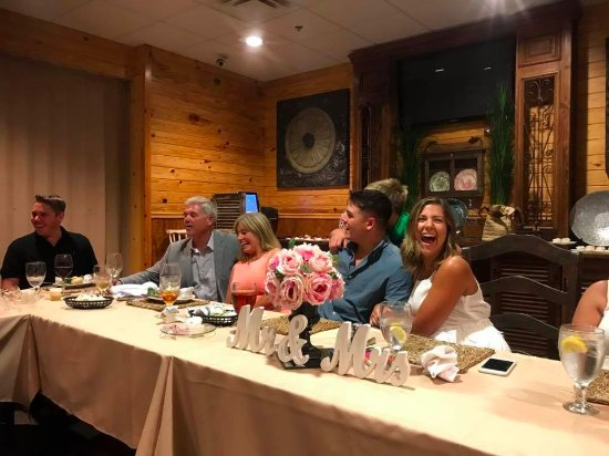 Foley, Алабама: Rehearsal Dinner - The Perfect Night thanks to Wolf Bay