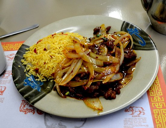 Troutman, NC: Mongolian Beef with Pork Fried Rice