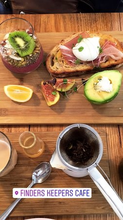 Hawthorn, Australië: Breakfast Board (Almond Chai separate)
