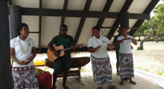 Yasawa Islands, Fiyi: Staff farewell