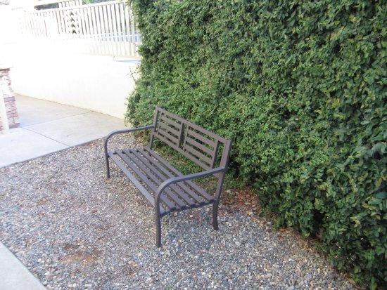 Folsom, CA: bench