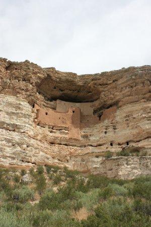 Montezuma Castle National Monument: The high rise castle.