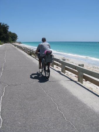 Nokomis, FL: Bikeing alone the beaches on Casey Key Rd. The best.