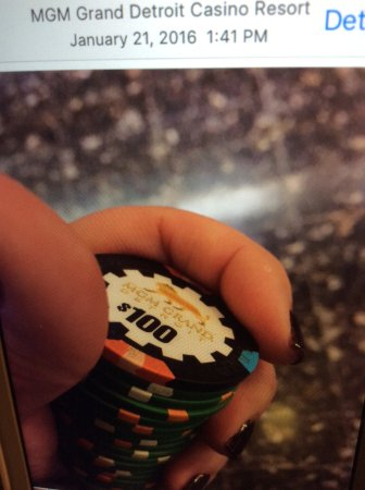 MGM Grand Detroit Casino : Love the roulette
