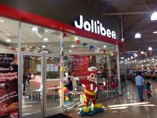 Restaurant rating of jollibee