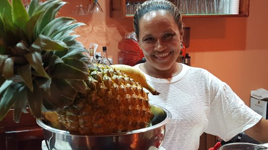 La  Dolce Vita : This is Anna, one of the co-owners & cooks! Be sure to meet her when you go to La Dolce Vita!
