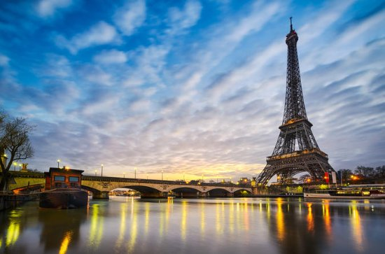 Eiffel Tower 3-Course Dinner and...