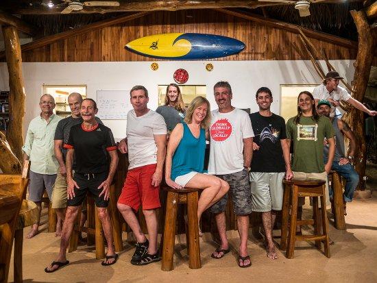Corky Carroll's Surf School: Happy bellies