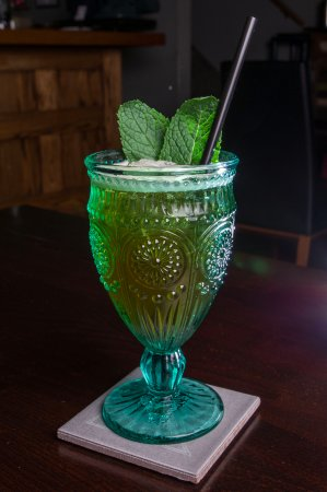 The Raven Bistro: Moroccan Mint Julep
