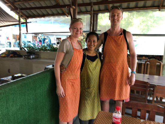 Maret, Thailand: We spent great time in the cooking school in may 2017. Our teacher was very good prepared and sh