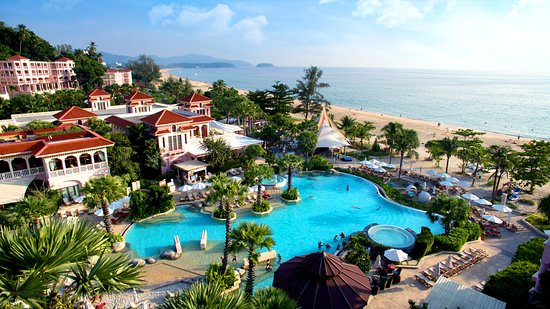 Schones Hotel Direkt Am Strand Centara Grand Beach Resort Phuket