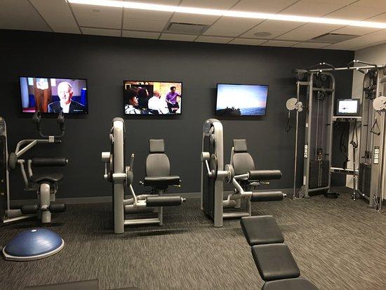 Fitness Center Machines Picture Of W Boston Boston