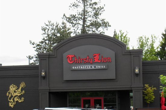 Tigard, OR: the west side of the building