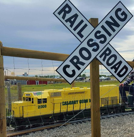 Rideable Train