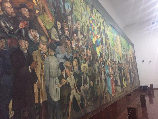 Mural De Diego Rivera Sueno De Una Tarde Dominical