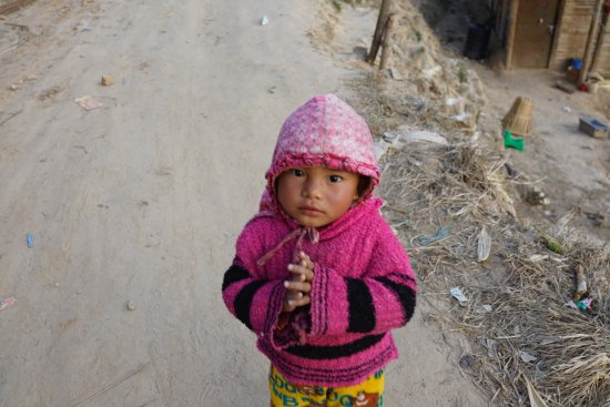 Kathmandu Valley, Nepal: The children are so adorable and eager to greet you. Here's a tip, bring chocolate for the kids!