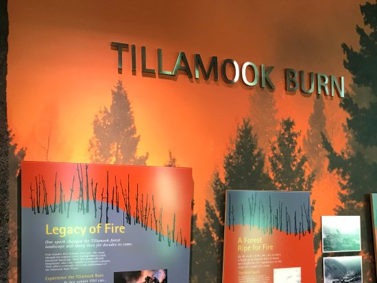 Tillamook, OR: Explanation Boards