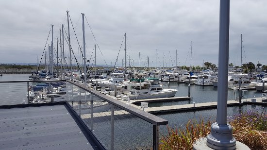 National City, CA: Right Marina View From The Restaurant