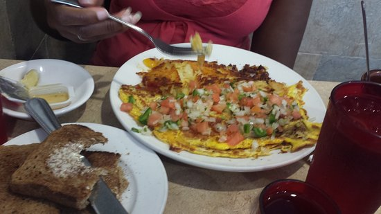 Sunnyside, NY: Pete's Diner -Brunch- Ranch Eggs_large.jpg