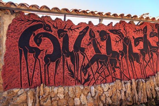 Una, إسبانيا: Mural Artístico de Pedro Mercedes