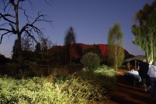 Yulara, Australien: The BBQ site