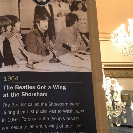 Omni Shoreham Hotel: The Beatles 1964 had their own wing during their stay there.