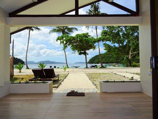 Port Barton, Filippinerna: Premier Beachfront Villa