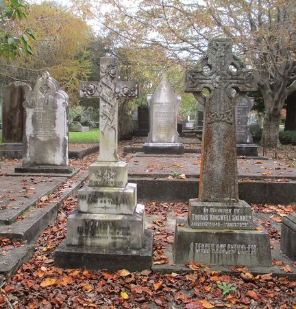 New Plymouth, New Zealand: interesting headstones at Te Henui cemetery