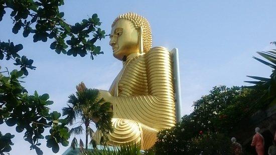 Dambulla, Sri Lanka: The Golden Temple