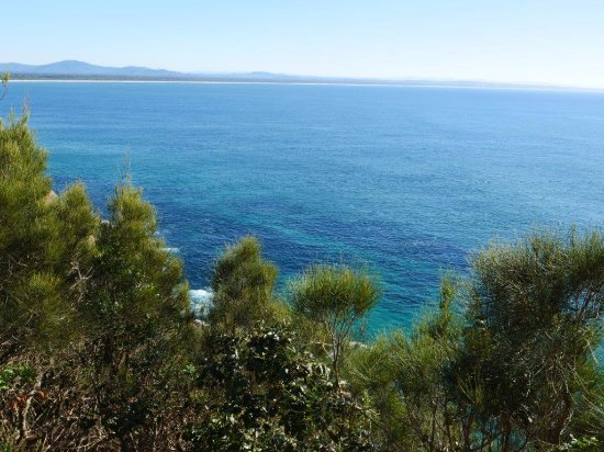 Forster, Australia: View to North from Bennett's Head
